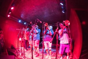 Rebirth Brass Band group