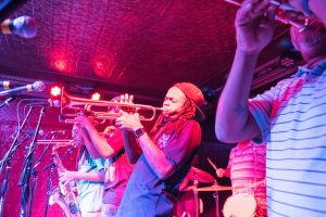 Rebirth Brass Band trumpet
