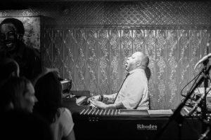 Karl Denson's keyboardist