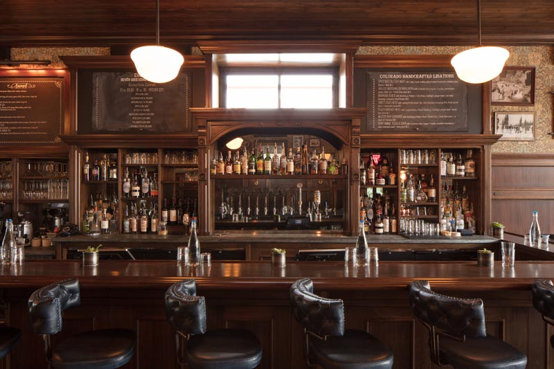 Public House Main Bar Crested Butte