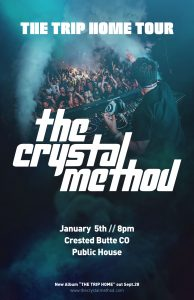 The Trip Home Tour - the crystal method
