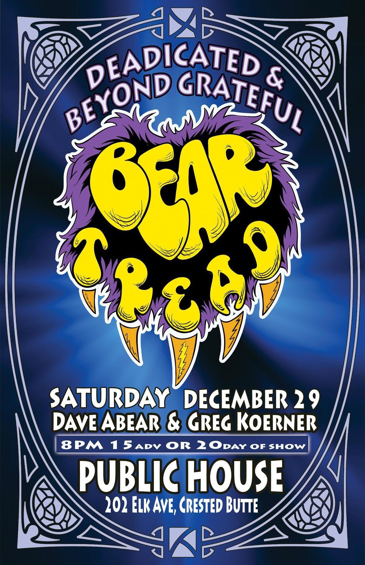 Bear Tread at Public House CB