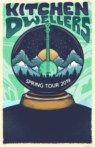 Kitchen Dwellers Spring 2019 tour at Public House CB