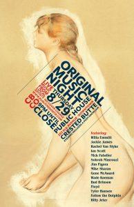 Original Music Night Poster Public House CB